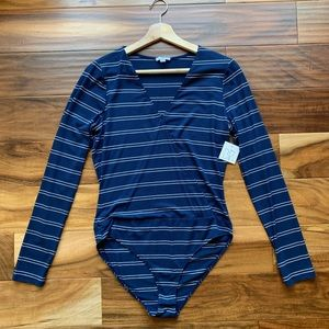 Nordstrom Striped Bodysuit